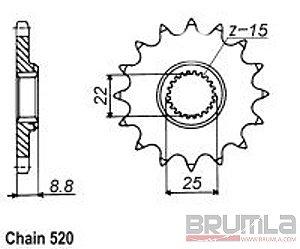 Řetězové kolečko KTM 300EXC 93-16 Řetězové kolečko KTM 200SX 04-08 Řetězové kolečko KTM 505XC-F 08-09 Řetězové kolečko KTM 450EXC-R 08-11 Řetězové kolečko HUSQVARNA TC250 14-16 Řetězové kolečko HUSQVARNA TE250 14-16 Řetězové kolečko KTM 125EXC 90-16 Řetěz
