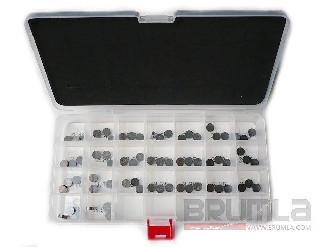 Podložky ventilů průměr 9,48mm 1 ks HUSQVARNA TE250 03-09 1,45