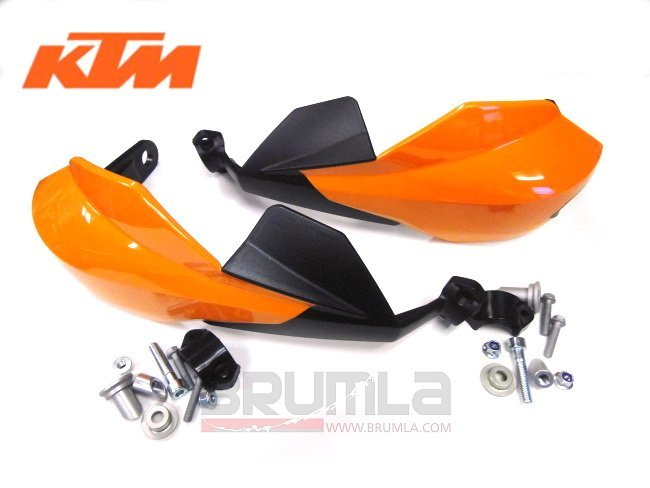 Kryty páček KTM KTM 250EXC-F 07-16 Kryty páček KTM KTM 250EXC 04-16 oranžová