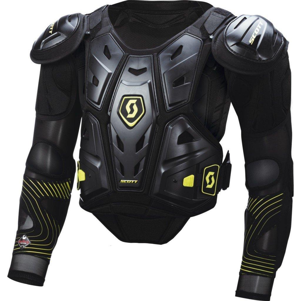 Chránič hrudi SCOTT Commander Jacket Protector black/green XL