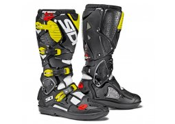 Boty SIDI CROSSFIRE 3 SRS white/black/yellow fluo