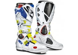 Boty SIDI CROSSFIRE 2 SRS yellow fluo/white/blue