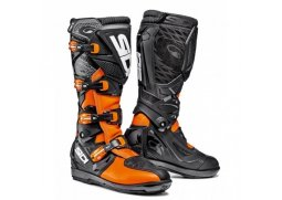 Boty SIDI X-3 SRS orange fluo/black