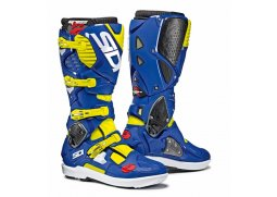 Boty SIDI CROSSFIRE 3 SRS yellow fluo/blue